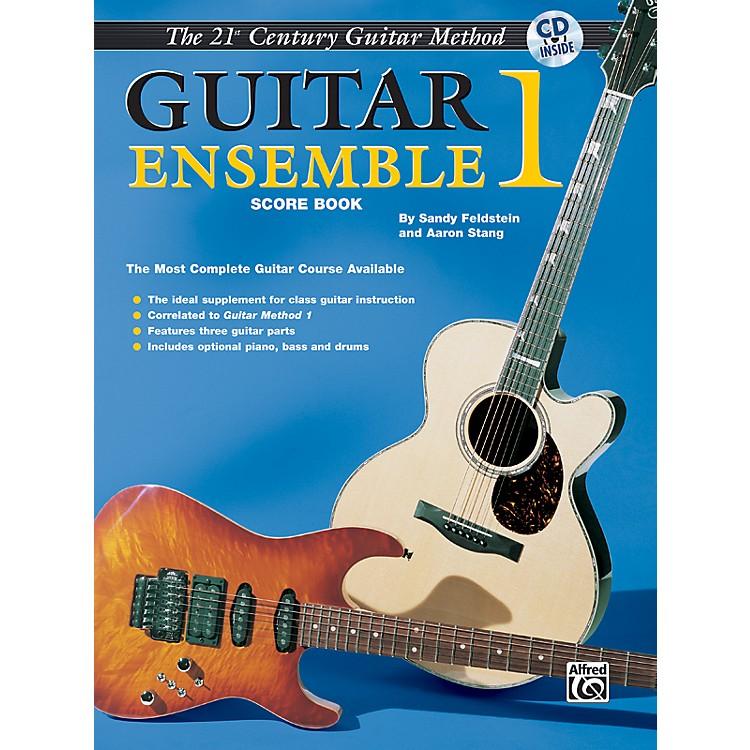 Alfred21st Century Guitar Ensemble 1 Score Book & CD