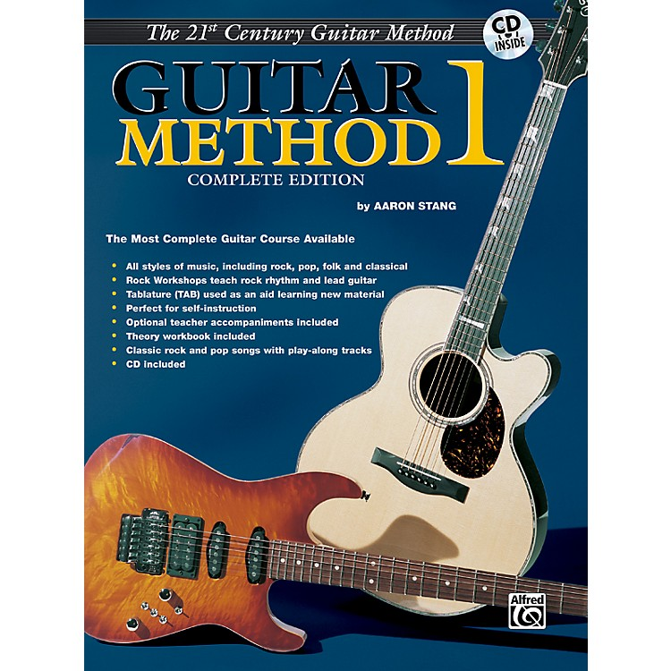 Alfred21st Century Guitar Method 1 Complete Edition 3 Books & CD (includes Guitar Theory 1 and Guitar Song Trax 1)