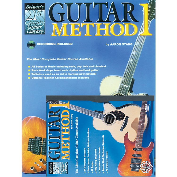 Alfred 21st Century Guitar Method 1 Mega Pak with DVD Mega Pak with DVD