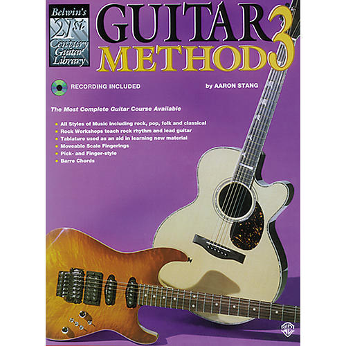 Alfred 21st Century Guitar Method 3 Book/CD