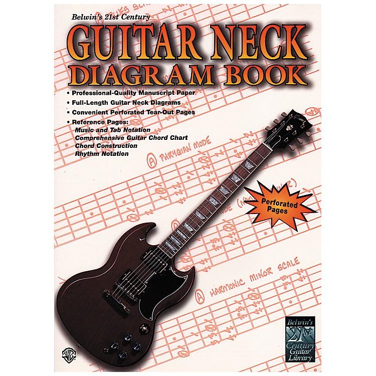 Alfred21st Century Guitar Neck Diagram Book