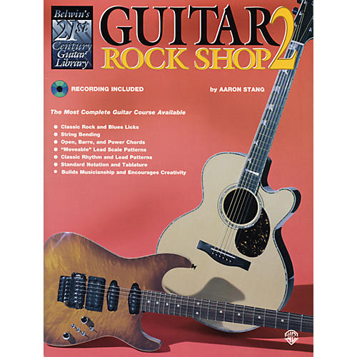 Alfred 21st Century Guitar Rock Shop 2 Book & CD