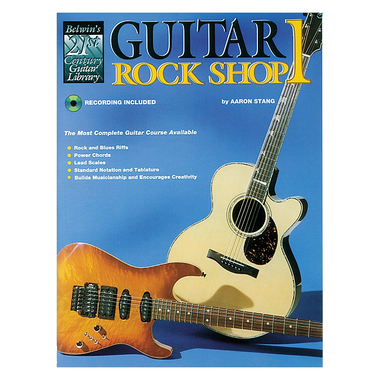 Alfred 21st Century Guitar Rock Shop Volume 1 Book/CD