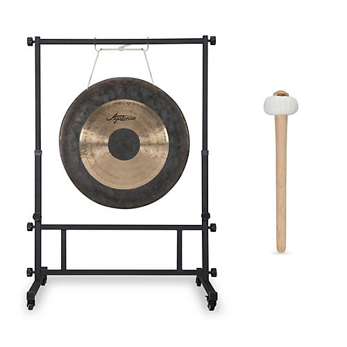 Agazarian 22 in. Wind Gong with Mallet and Stand-thumbnail