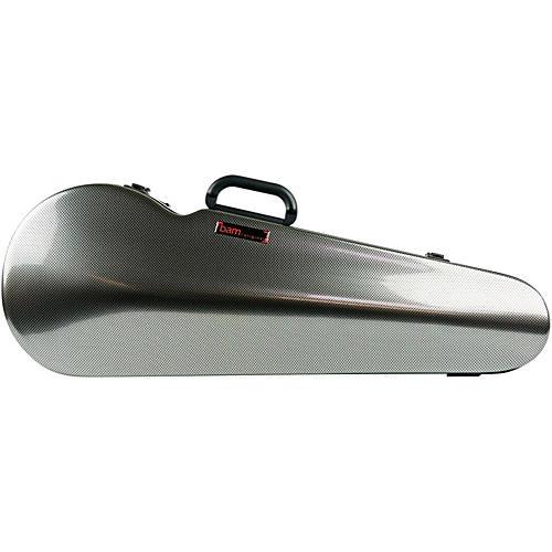 Bam 2200XL Contoured Hightech Adjustable Viola Case Silver Carbon