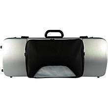 Bam 2202XL Hightech Large Adjustable Viola Case with Pocket Metallic Silver
