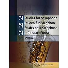 Editio Musica Budapest 222 Studies for Saxophone (Intermediate Level) EMB Series  by Various
