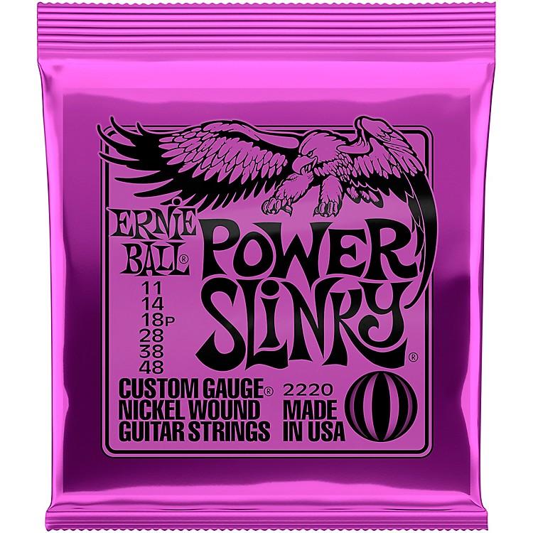 Ernie Ball2220 Power Slinky Nickel Electric Guitar Strings
