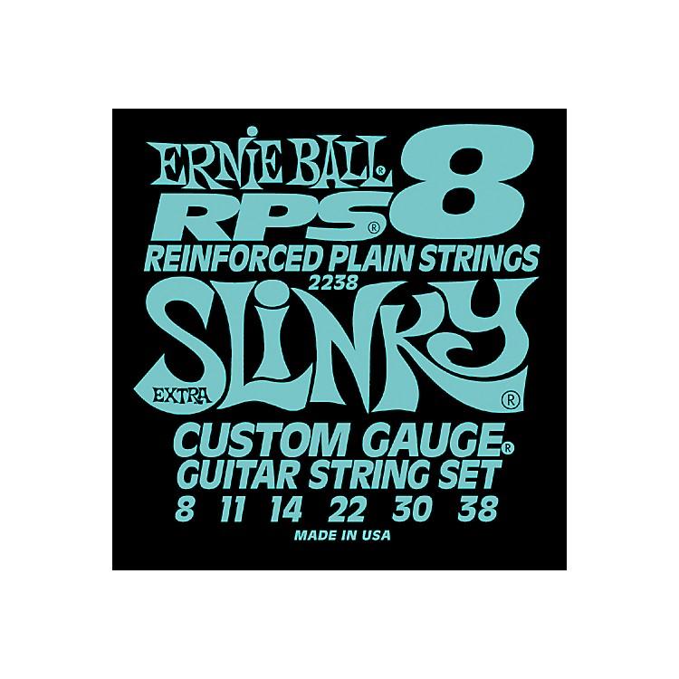 Ernie Ball2238 Extra Slinky RPS 8 Electric Guitar Strings