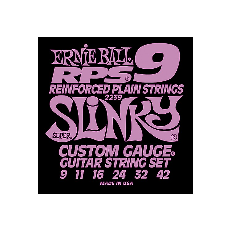 Ernie Ball 2239 Super Slinky RPS 9 Electric Guitar Strings