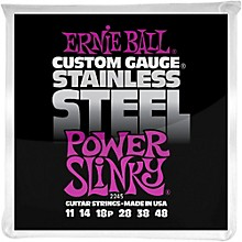 Ernie Ball 2245 Stainless Steel Power Slinky Strings