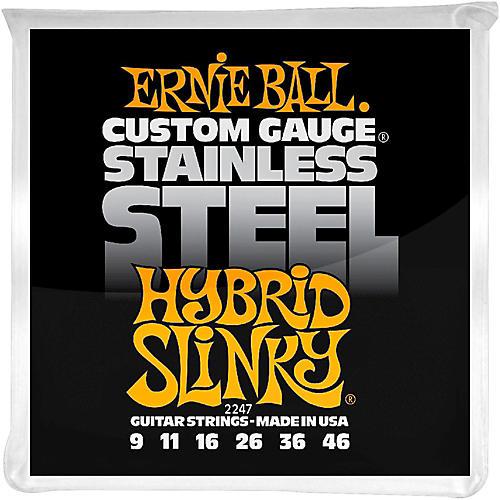 Ernie Ball 2247 Hybrid Slinky Guitar Strings Stainless Steel