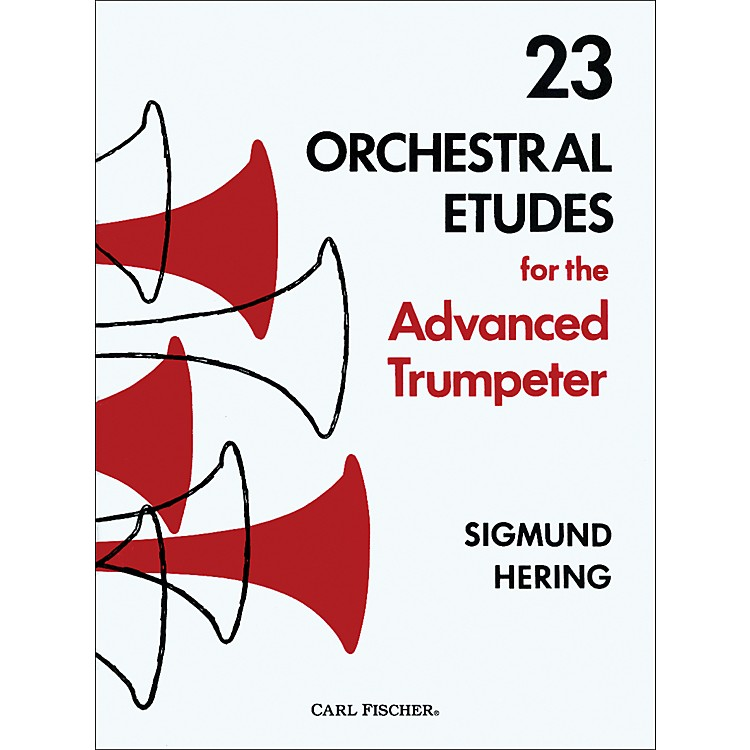 Carl Fischer 23 Orchestral Etudes for the Advanced Trumpeter