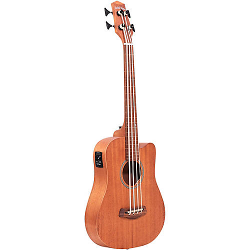 gold tone 23 scale fretless acoustic electric microbass natural musician 39 s friend. Black Bedroom Furniture Sets. Home Design Ideas