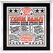 Ernie Ball 2303 Medium Gauge Tenor Banjo Strings