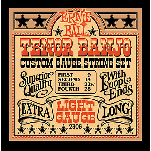 Ernie Ball 2306 Light Gauge Tenor Banjo Strings