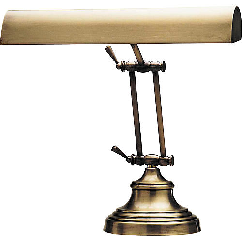 House of Troy #231 Antique Finish Piano Lamp