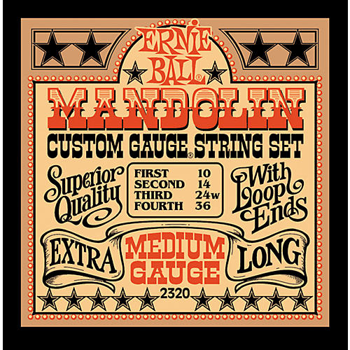 Ernie Ball 2320 Medium Mandolin Strings