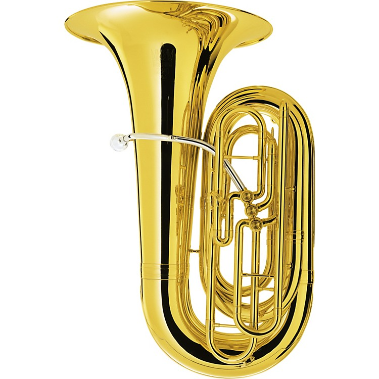 King2340 3 Valve Tuba2340w Lacquer With Case