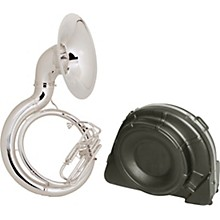 King 2350 Series Brass BBb Sousaphone 2350WSP Silver With Case