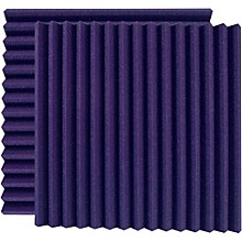"Ultimate Acoustics 24"" Acoustic Panel - Wedge, Purple (UA-WPW-24)"