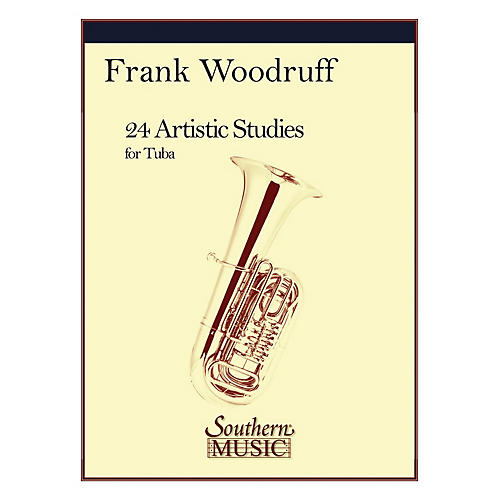 Southern 24 Artistic Studies (Tuba) Southern Music Series Composed by Frank Woodruff-thumbnail