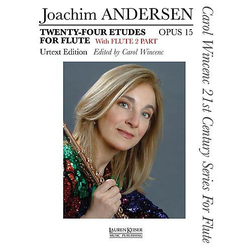 Lauren Keiser Music Publishing 24 Etudes for Flute, Op. 15 LKM Music Series-thumbnail