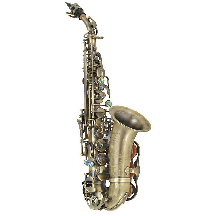 P. Mauriat2400 Series Curved Soprano SaxophoneDark Lacquer