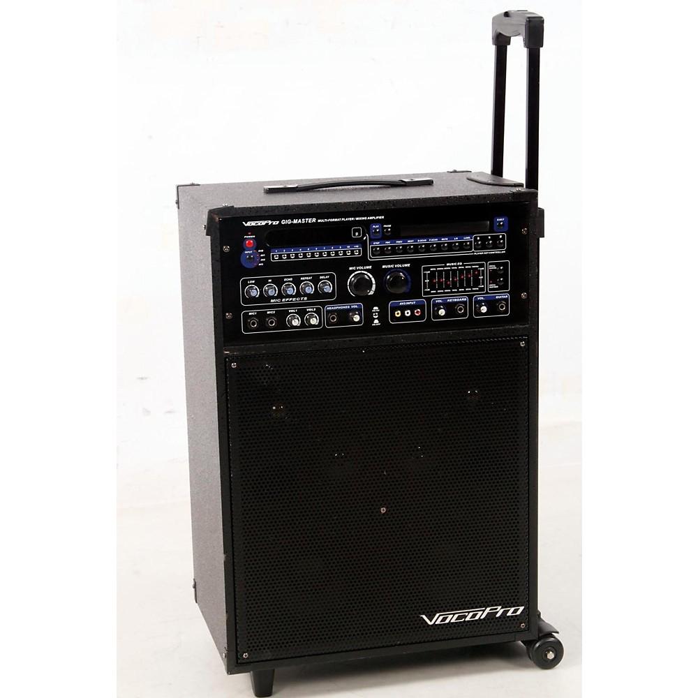 Used Vocopro Gig-Master 180W Karaoke System Regular 888365165547