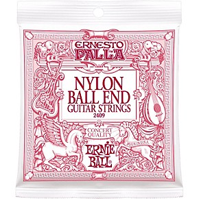 ernie ball 2409 ernesto palla nylon ball end classical acoustic guitar strings musician 39 s friend. Black Bedroom Furniture Sets. Home Design Ideas