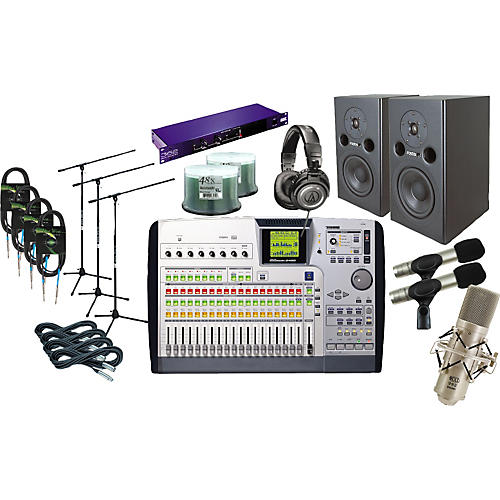 Tascam 2488 All-In-One Recording Package-thumbnail