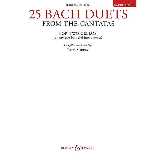 Boosey and Hawkes 25 Bach Duets from the Cantatas (Two Cellos Performance Score) Boosey & Hawkes Chamber Music Series-thumbnail