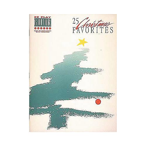 Hal Leonard 25 Christmas Favorites Easy Guitar Book-thumbnail