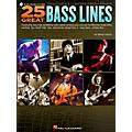 Hal Leonard 25 Great Bass Lines Guitar Book Series Softcover with CD Written by Glenn Letsch thumbnail