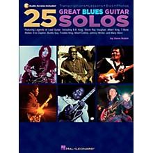 Hal Leonard 25 Great Blues Guitar Solos (Book/CD)