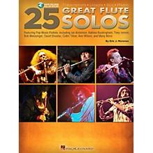 Hal Leonard 25 Great Flute Solos Book/Audio Online