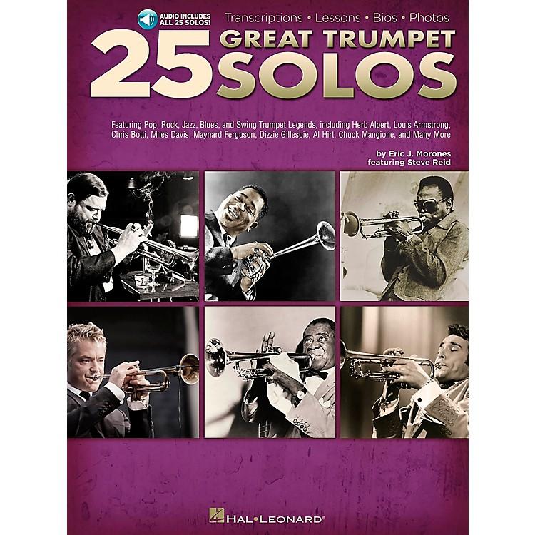 Hal Leonard25 Great Trumpet Solos Book/CD includes Transcriptions * Lessons * Bios * Photos
