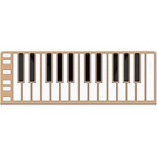 CME 25 Key Mobile Keyboard Controller Champagne