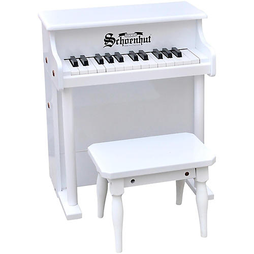 Schoenhut 25- Key Traditional Spinet White