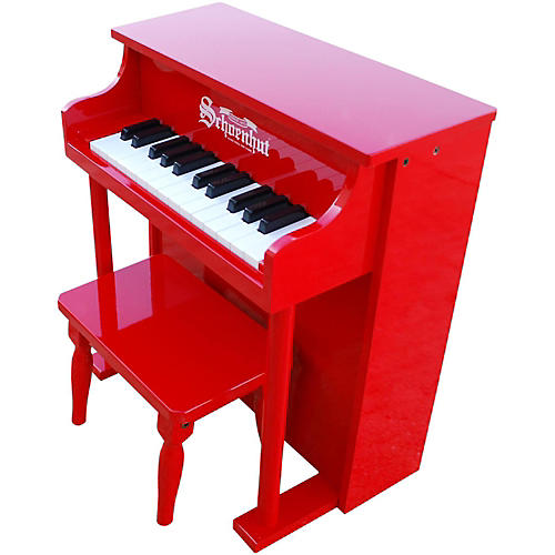 Schoenhut 25- Key Traditional Spintet Red
