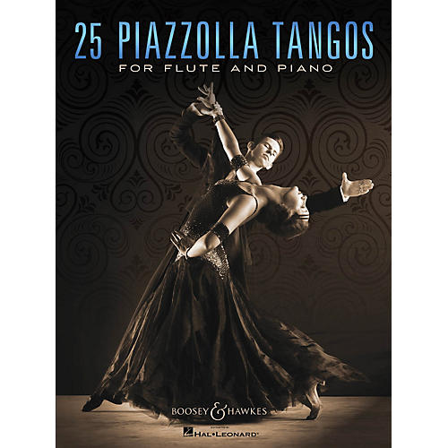 Boosey and Hawkes 25 Piazzolla Tangos for Flute and Piano Boosey & Hawkes Chamber Music Series Softcover-thumbnail