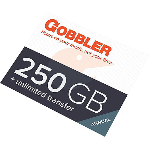 Gobbler 250GB Annual Plan Software Download-thumbnail