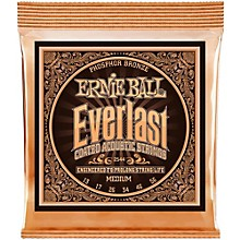 Ernie Ball 2544 Everlast Phosphor Medium Acoustic Guitar Strings