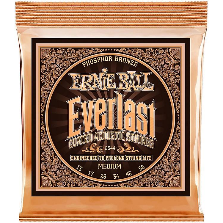 Ernie Ball2544 Everlast Phosphor Medium Acoustic Guitar Strings