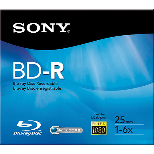 Sony 25GB Recordable Single Layer Blue-ray Disc-thumbnail