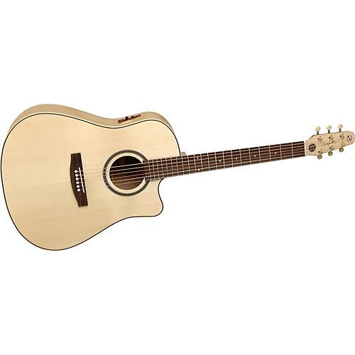 Seagull 25th Anniversary CW Flame Maple EQ Acoustic-Electric Guitar-thumbnail