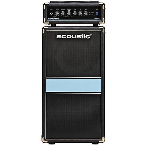 Acoustic 260mkII 1x10 100W Bass Mini-Stack Black