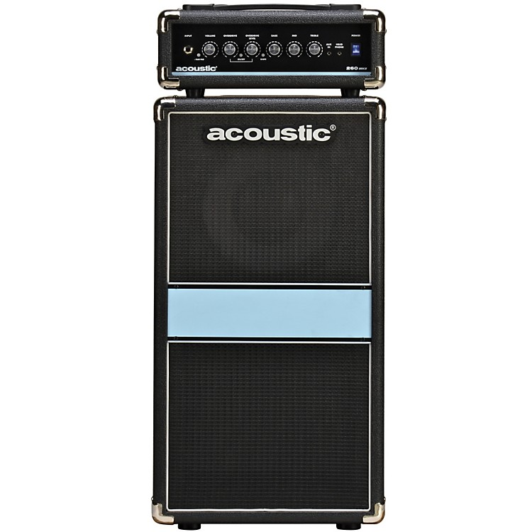 Acoustic 260mkII 1x10 100W Bass Mini-Stack Black