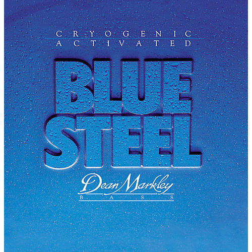 Dean Markley 2670 Blue Steel Cryogenic Extra Light Bass Strings-thumbnail