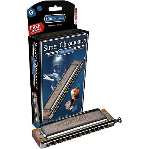 Hohner 270 Super Chromonica Chromatic Harmonica-thumbnail